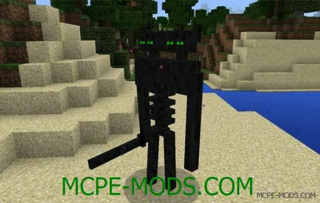 Мод Mutant Enderman для Minecraft PE 0.16.0 скачать бесплатно
