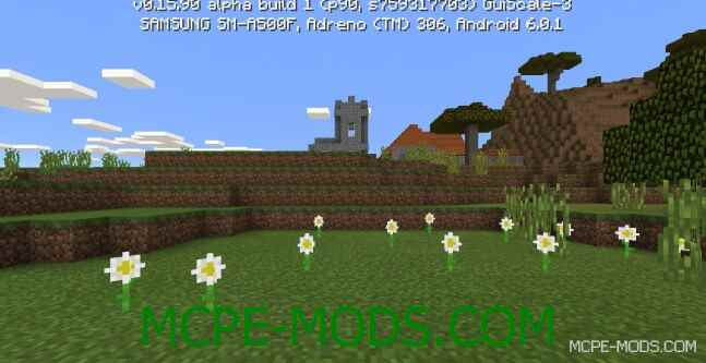 Сид деревня из красного дерева для Minecraft PE 0.16.0