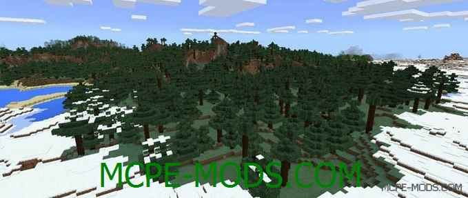 Сид Double Snow Village & Forests на Minecraft PE 0.16.0