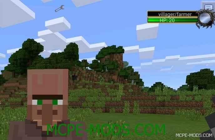 Скачать мод Damage Indicators для Minecraft PE 0.16.0 бесплатно на Андроид