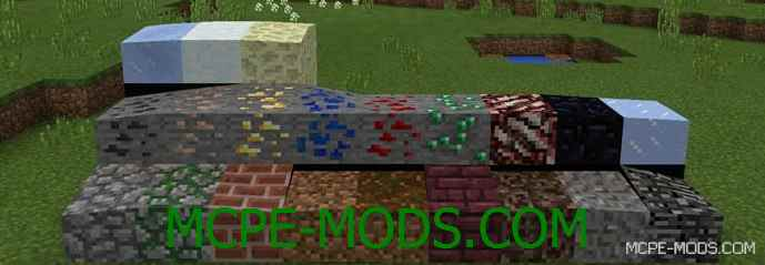 Скачать мод Slope Blocks на Майнкрафт 0.15.10, 0.15.9, 0.15.8 бесплатно