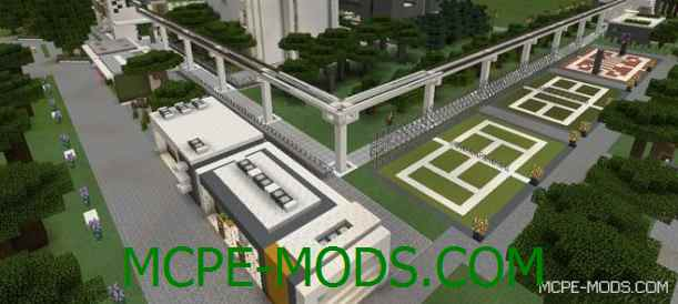 Скачать карту NXUS Modern Architecture Series для Майнкрафт 0.16.0 на Андроид