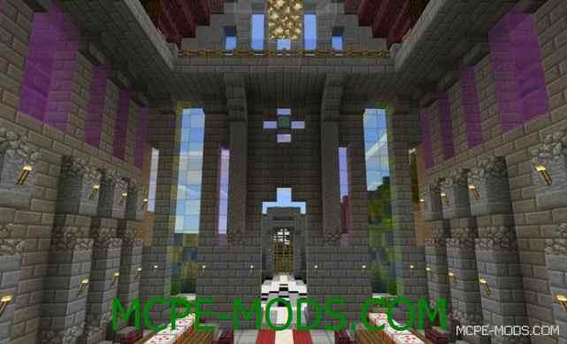 Скачать мод Stained Glass для Minecraft PE 0.16.0 бесплатно на Андроид