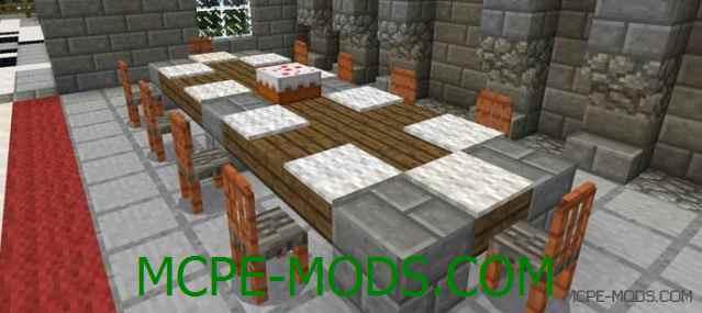 Скачать мод More Chairs Add-on для Minecraft PE 0.16.0 бесплатно на Андроид