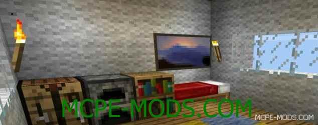 Скачать мод Smallest House на Майнкрафт 0.15.10, 0.15.9, 0.15.8 бесплатно