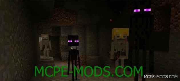 Скачать мод PlusMobs Addon для Minecraft PE 0.16.0 бесплатно на Андроид