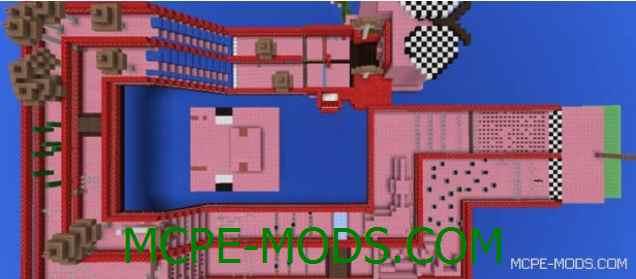 Скачать карту Piggy vs Piggy для Майнкрафт 0.16.0 на Андроид