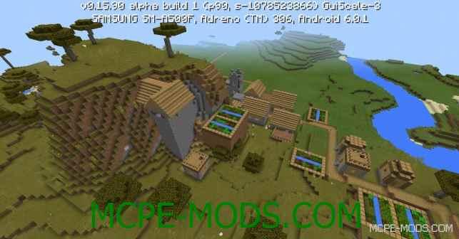 Сид ТОП! Спавнер пауков в деревне на Minecraft PE 0.16.0