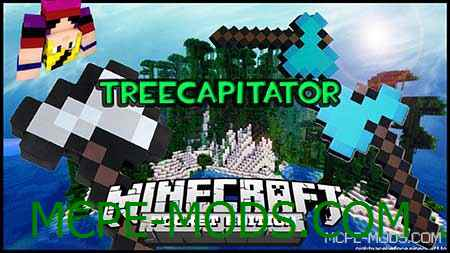Мод TreeCapitator 0.15.10, 0.15.9, 0.15.8