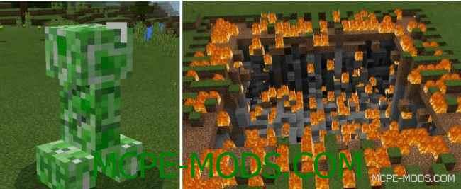 Скачать мод Plus Explosion Addon для Minecraft PE 0.16.0 бесплатно на Андроид