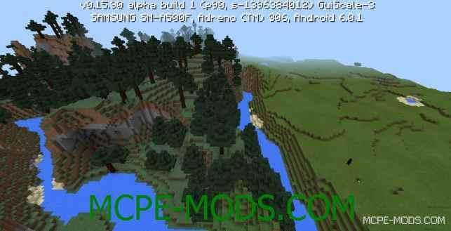 Сид Деревня с кузницей в лесу на Minecraft PE 0.16.0