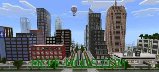 Скачать карту TN City для Майнкрафт 0.16.0 на Андроид