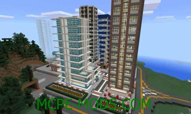 Скачать карту Soutade City для Майнкрафт 0.16.0 на Андроид