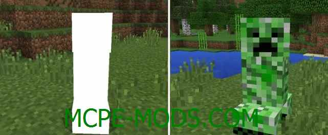 Скачать мод Friendly Creepers Addon для Minecraft PE 0.16.0 бесплатно на Андроид