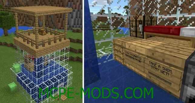 Скачать мод Hardcore Squid Mode Addon для Minecraft PE 0.16.0 бесплатно на Андроид