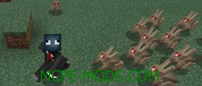 Скачать мод Angry Animals для Minecraft PE 0.16.0 бесплатно на Андроид