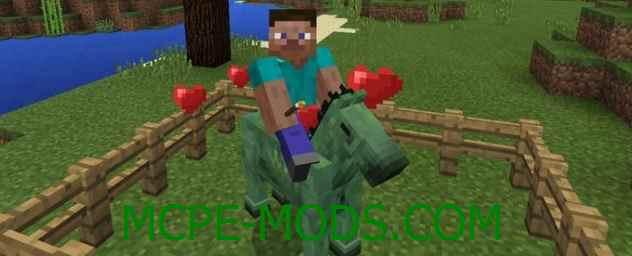 Скачать мод Rideable Zombie Horses для Minecraft PE 0.16.0 бесплатно на Андроид