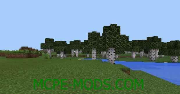 Сид Деревня в биоме с обожжённой глиной на Minecraft PE 0.16.0, 0.16.1