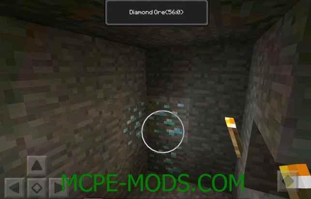 Скачать мод Block Indicators для Minecraft PE 0.16.0, 0.16.1 бесплатно на Андроид