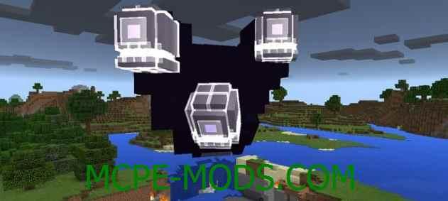 Скачать мод Wither Storm для Minecraft PE 0.16.0, 0.16.1 бесплатно на Андроид
