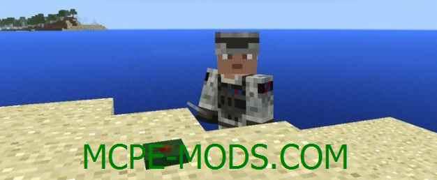Скачать мод Landmines для Minecraft PE 0.16.0, 0.16.1 бесплатно на Андроид