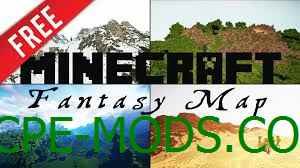 Карта Fantasy World 0.16.0, 0.16.1