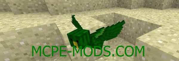 Скачать мод The Birds для Minecraft PE 0.16.0, 0.16.1 бесплатно на Андроид