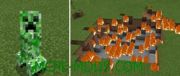 Скачать мод Bigger Explosions для Minecraft PE 0.16.0, 0.16.1 бесплатно на Андроид