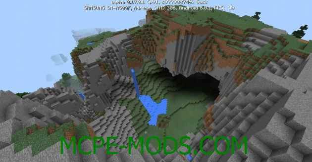 Сид Огромные горы на Minecraft PE 0.17.0, 0.17.1