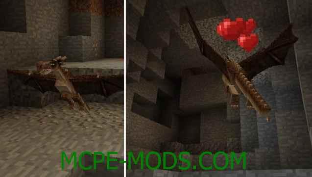 Скачать мод Dragons для Minecraft PE 0.16.0, 0.16.1 бесплатно на Андроид
