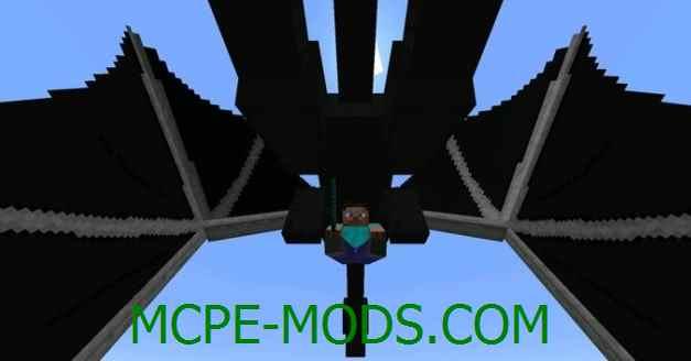 Скачать мод Driveable Dragon для Minecraft PE 0.16.0, 0.16.1 бесплатно на Андроид