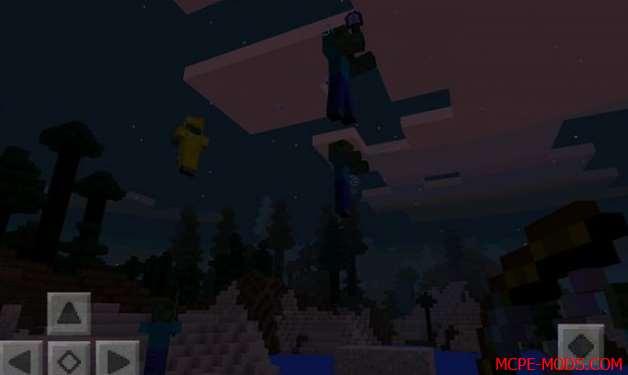 Скачать мод Arrows of Levitation для Minecraft PE 0.17.0, 0.17.1 бесплатно на Андроид