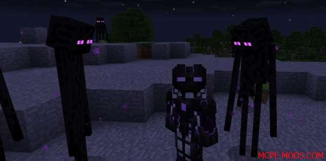 Мод You Are The Enderman 0.17.0, 0.16.0, 0.16.1