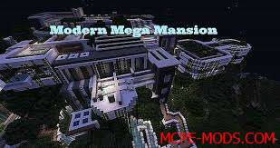 Карта MEGA mansion 0.16.0, 0.16.1