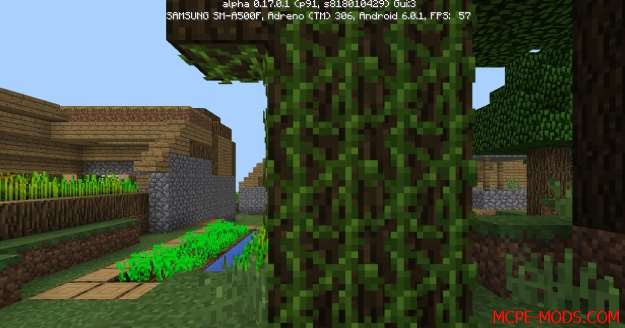 Сид Тройная деревня на Minecraft PE 0.17.0, 0.17.1