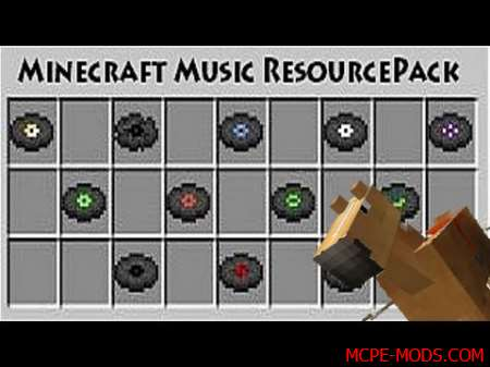Текстур-пак Background Music Resource Pack 0.17.0, 0.17.1