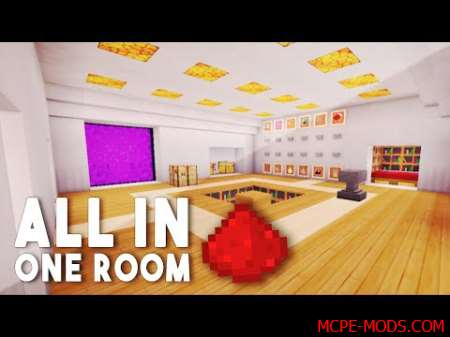 Карта All in one room 0.16.0, 0.16.1