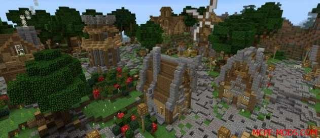 Скачать карту Medieval City на Майнкрафт 1.0, 0.17.0, 0.17.1, 0.16.0, 0.16.1 бесплатно