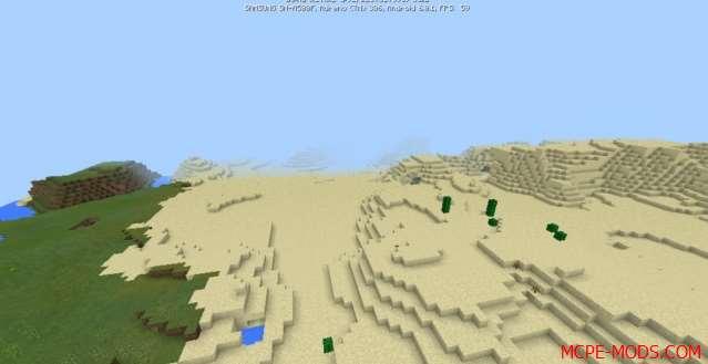 Сид Деревня из красного дерева с кузницей на Minecraft PE 1.0, 0.17.0, 0.17.1
