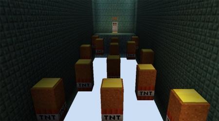 Карта Black TNT Run 2 0.17.0, 0.17.1