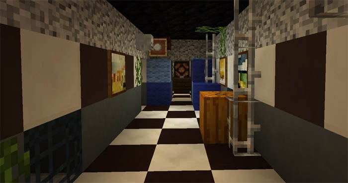 Карта The Horror Attraction — FNAF 3 1.0.4, 1.0.3, 1.0.0