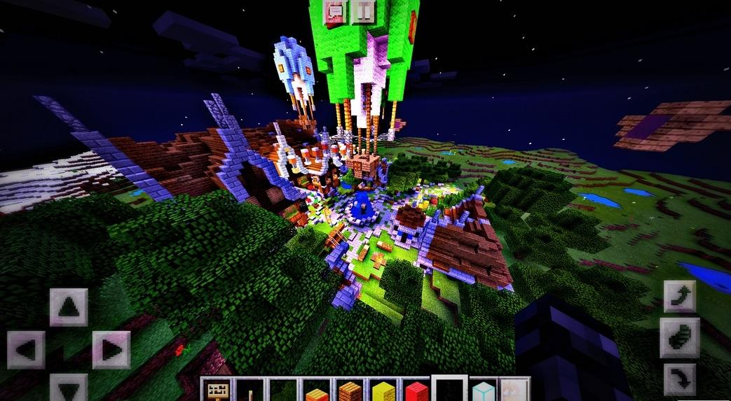 Новый сервер Planet-Pe для Майнкрафт ПЕ