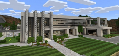 Текстур пак Modern Super Mansion 1.0.0, 1.0.3, 1.0.4
