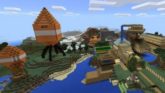 Карта Stampy's Lovely World PE