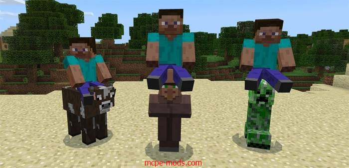 Мод All Mobs Rideable 1.2