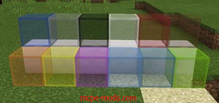 Текстура Cleaner Stained Glass Pack (Только для 1.2)