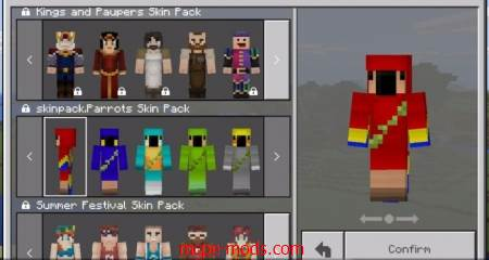 Скинпак NewMobs Skin Pack (Только для 1.2 Бета)