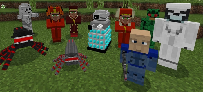 Мод Doctor Who Mobs 1.5.0