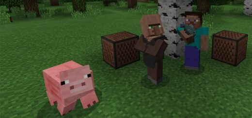 Текстуры The Element Animation Villager 1.2