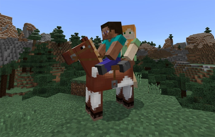 Мод 2 Player Horse Riding 1.2.8